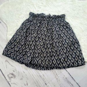 Urban Outfitters Ruffle Waist Skirt #87